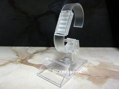新品2 定形外可 腕時計スタンド 1個 アクリル 角度調節可能
