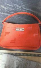 フィラ 赤 ミニハンドバッグ