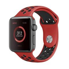 Apple Watch スポーツバンド レッドブラック