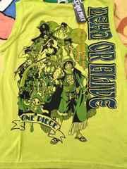 (●⌒∇⌒●) 新品*ONE PIECE*ランニングTシャツ*150�p*