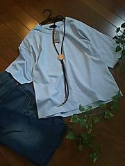 〇apart by lowrys〇五分袖きれいな水色カットソー*・゜新品