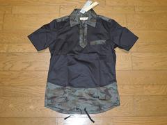 新品リベレーターliberator-ops迷彩ジップシャツ3黒半袖AKM
