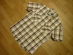 タケオキクチ メンズ2(M) チェック柄半袖シャツ TAKEOKIKUCHI