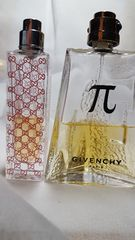 GUCCIとGIVENCHY50ml