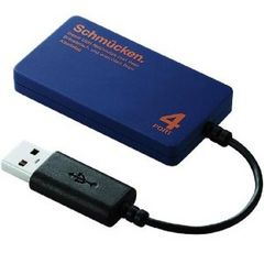 ☆ELECOM USBハブ USB2.0対応 バスパワー 4ポート 7cm