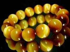 ゴールデンタイガーアイ黄金虎目石§12ミリ§天然石数珠