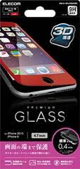人気急上昇!iPhone6s/6対応 液晶保護ガラスフィルム