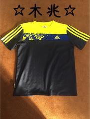 adidasアディダスサッカー半袖シャツ150(プラシャツ)