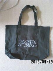 非売品付録・X-GIRLコラボ・セサミストリート柄トートバッグ