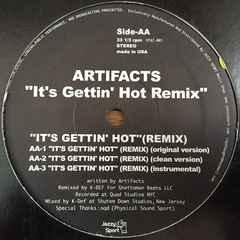 artifacts / it's gettin hot (K-Def Remix) jazzy sport