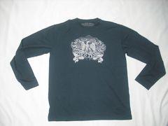 25 男 ラルフローレン ポロジーンズ 黒 長袖Tシャツ M