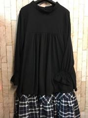 新品☆大きい5L可愛いロングスカート&トップス♪s513