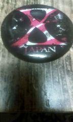 X JAPAN バッチ型 ミラー