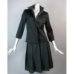 【新品★7号】 黒のジャケット七分袖★美シルエット★送料170円