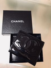 1円 ◆正規品◆ 美品 ◆ シャネル CHANEL レザー 財布 黒