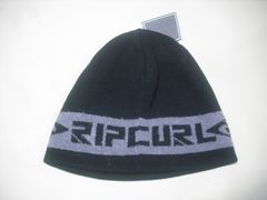 rc278 男 RIP CURL リップカール ニット帽 ビーニー 黒