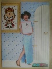 ハロモニ@番組限定 ロングチャイナ写真2L判1枚 2008.8/リンリン