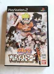 PS2 ソフト NARUTO ナルト PS2ソフト ナルティメットヒーロー