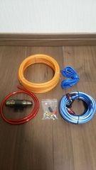 ■8ゲージワイヤリングキット/パワーケーブルアンプウーハー配線