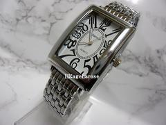 新品★腕時計 シルバーブラック/フランクミュラー好きに