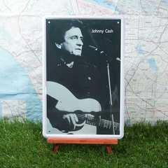 新品【ブリキ看板】Johnny Cash/ジョニー・キャッシュ
