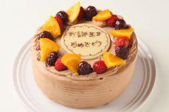 お誕生日に〜生チョコケーキ5号