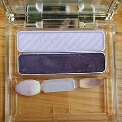 オルビス アイカラー アイシャドウ 濃紫パープル×パール薄紫ライトパープル