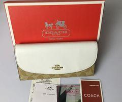 COACH F54022コーチ 二つ折り長財布