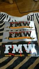 プロレス FMW ステッカー3枚