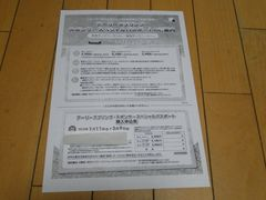 ★送料込みディズニーランド&シー割引券★