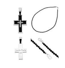 新品◆JUSTIN DAVIS◆クロスネックレス◆40cm◆定価57,240円◆