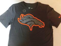 ナイキ【DRI FIT】NFL【Denver Broncos】ロゴT US S