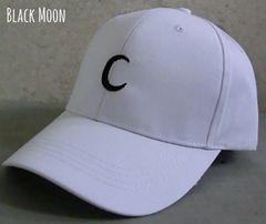 帽子 トレンド カーブ キャップ ブラックムーン プチプラ