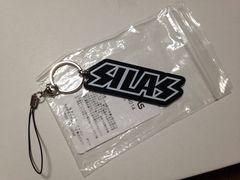 新品SILASサイラスロゴキーホルダー黒ストラップ
