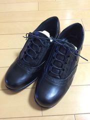 コンフォート シューズ 時見の靴 新品未使用 美品 ラム革