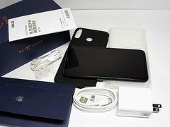 ●新品同様●SIMフリー ZenFone 5Z  ブラック●本体 白ロム●