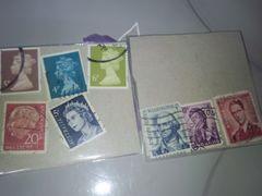 外国切手・使用済み ペーパーオフ・�C