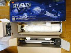 天体望遠鏡 Kenko SKY WALKER SW-�UPC 処分品