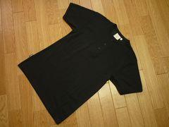 AVIREXアヴィレックスAerocoolヘンリーネック半袖TシャツS黒