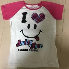 150サイズ/Tシャツ スマイル 半袖
