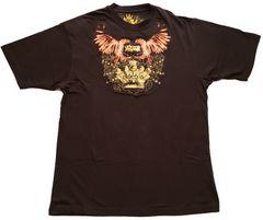 Lサイズ★即決セール★ブラウン(茶色)Tシャツ