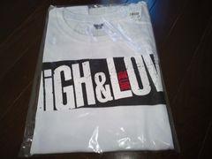 HIGH&LOW THE LIVE ノースリーブTシャツ 白 フリーサイズ三代目JSB 定価以下