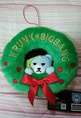 BIGBANG非売品クリスマスリースぬいぐるみGーdragonジヨン