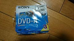 新品SONYビデオカメラ用 DVD-R3枚セット 両面録画