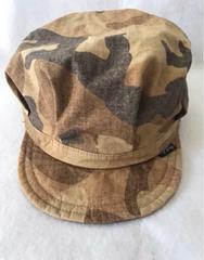 モバオクで買える「■送料無料■美品■ ベビー キッズ 帽子 キャップ 46cm 迷彩」の画像です。価格は210円になります。