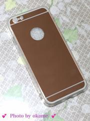 iPhone6鏡面ケース♪(新品未使用)