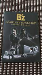 B'z COMPLETE SINGLE BOX【Trailer Edition】案内用紙