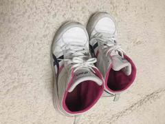 中古 アシックス安全靴 25.5センチ