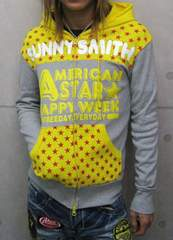 SunnySmith(サニースミス)アメリカンスターパーカー/L アメカジ