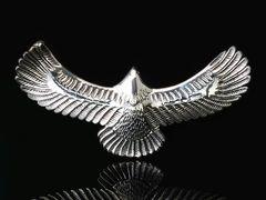 【PE-N085】SILVER925ビッグイーグルシルバーペンダントトップ鷲